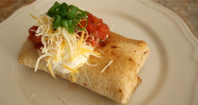 These Baked Chicken Chimichangas Are The Cat's Meow!