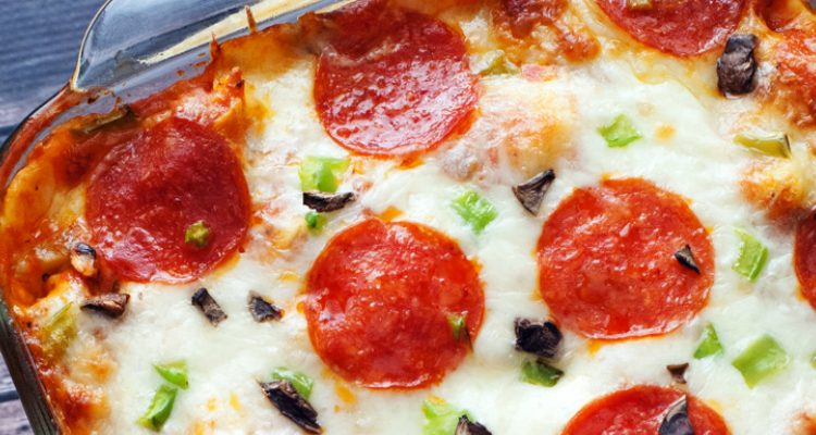 Out Of Time Pizza Tortellini Bake