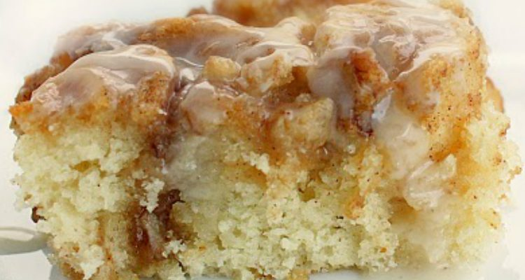 It's Only Logical To Turn Cinnamon Rolls Into A Cake…Right?