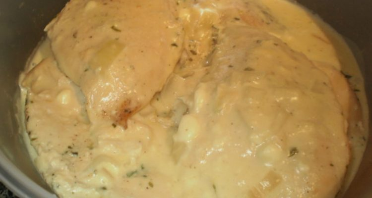 Low And Slow Cream Cheese Chicken
