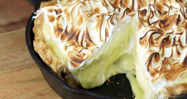 The Sun Will Shine Brighter After Tasting This Lemon Meringue Cheesecake