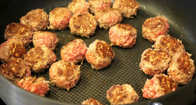 These Meatballs Look Like Porcupines!