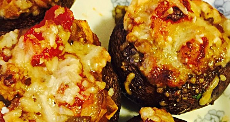 Salsa Stuffed Mushrooms That Will Have You Doing The Tango!