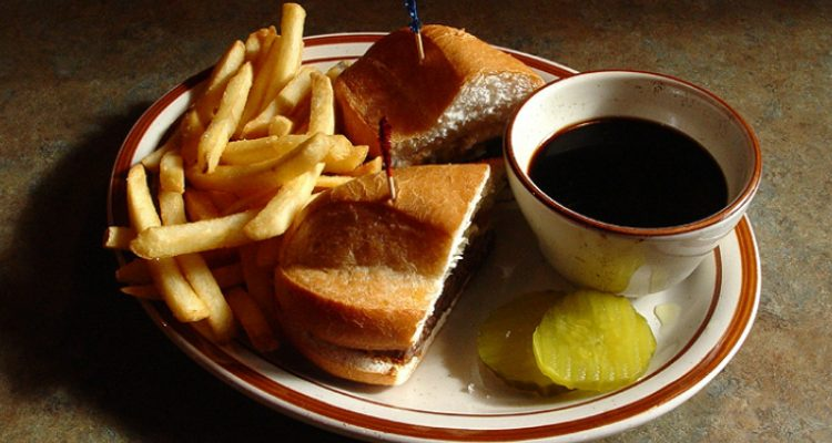 You Won't Believe What Ingredient Makes These French Dip Sandwiches One-Of-A-Kind