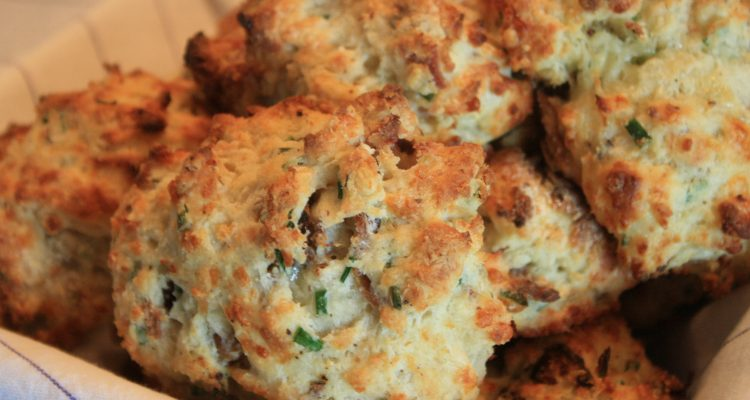 Jump And Jive Cheddar Chive And Bacon Biscuits