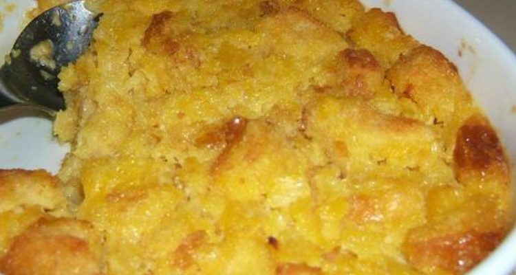 Put Your Hands Together For Aunt Carol's Cheesy Pineapple Casserole!